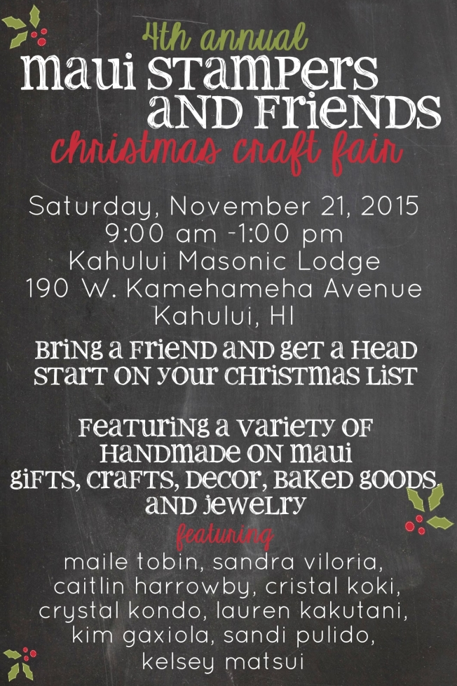 maui stampers craft fair-001